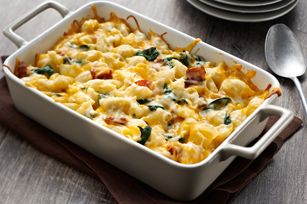 ... Season: Spinach and Roasted Red Pepper Baked Pasta | Living Well @ UHN