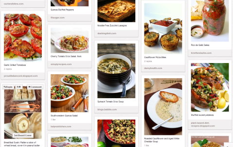 Pinterest Healthy Recipe Board