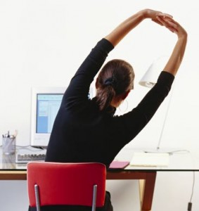 exercising-at-desk